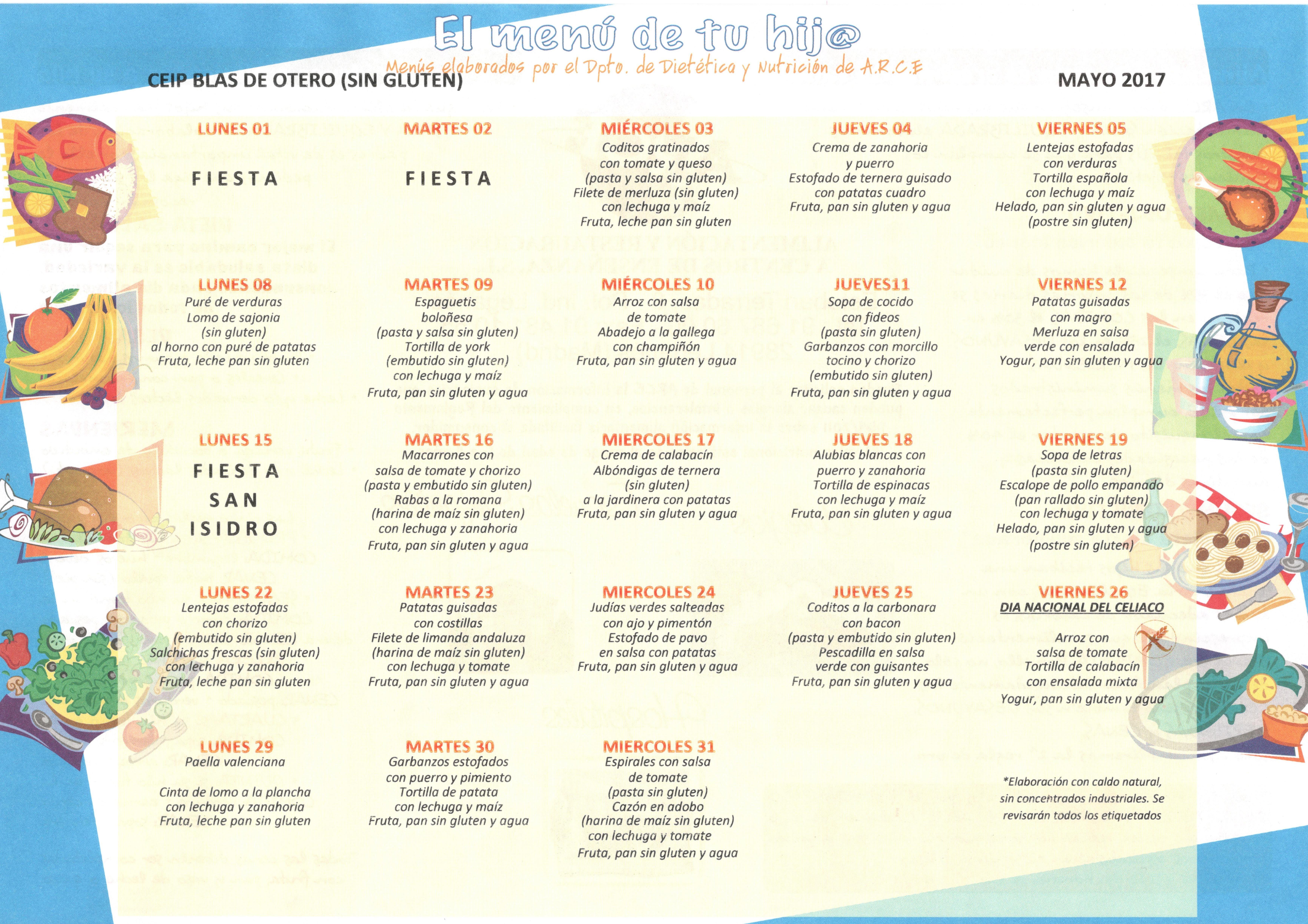 Menú comedor – Página 3 – CP Blas de Otero